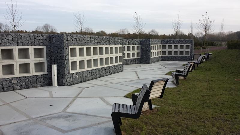 Urnenmuur, begraafplaats Maassluis